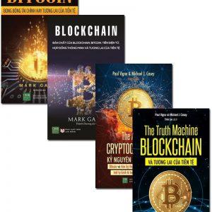 combo bộ 4 cuốn blockchain