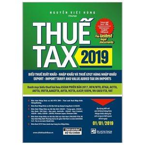 thuế tax 2019